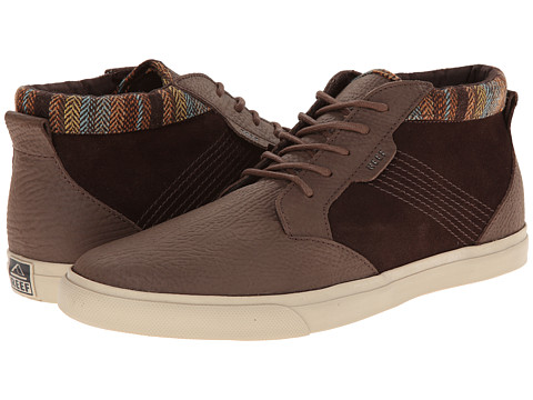 Reef - Outhaul Premium (Brown Flannel) Men's Shoes