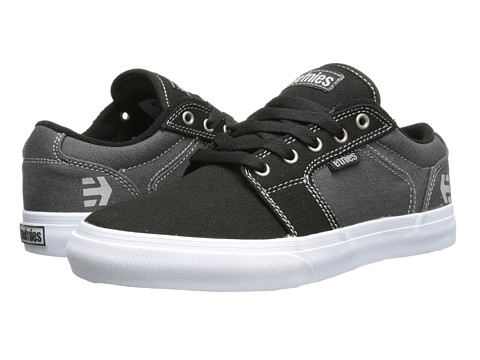 etnies - Barge LS (Black/Grey) Men