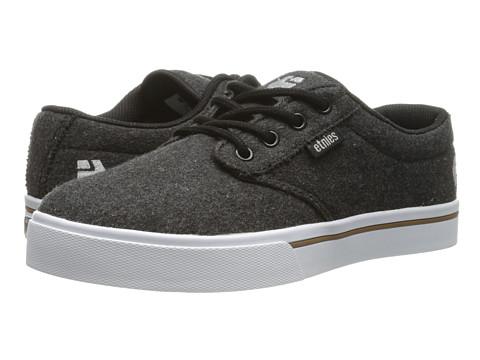 etnies - Jameson 2 Eco (Charcoal) Men's Skate Shoes