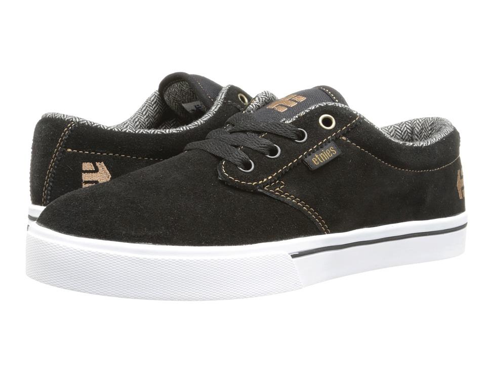 etnies - Jameson 2 (Black/Brown/Grey) Men's Skate Shoes