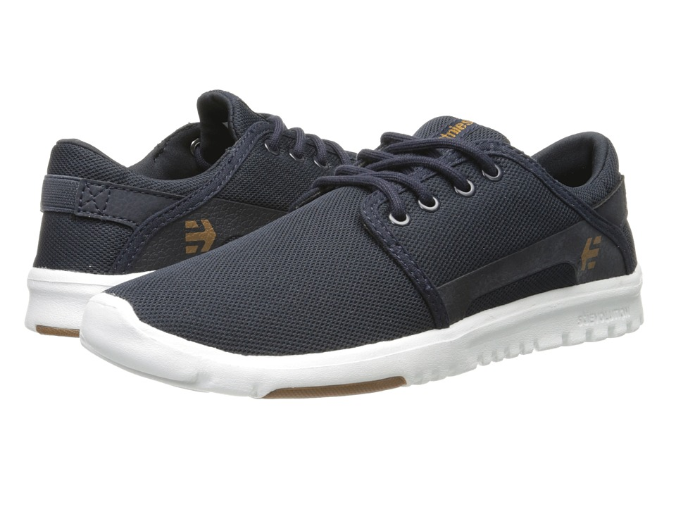 etnies - Scout (Navy/White/Gum) Men's Skate Shoes