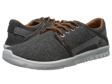 etnies - Scout (Grey/Grey) Men's Skate Shoes