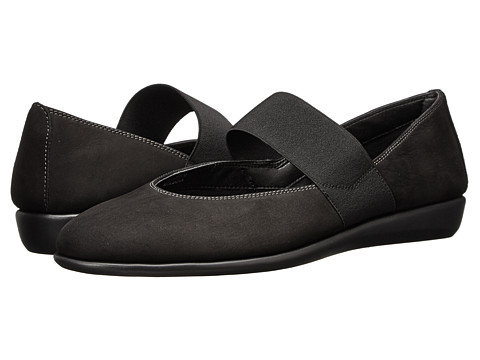 The FLEXX - Quick Rise (Black Antigua) Women's Flat Shoes