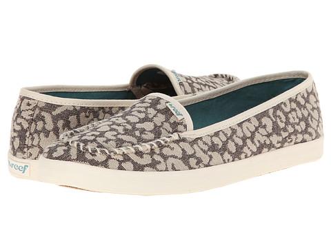 Reef - Salty Island (Leopard) Women's Slip on Shoes