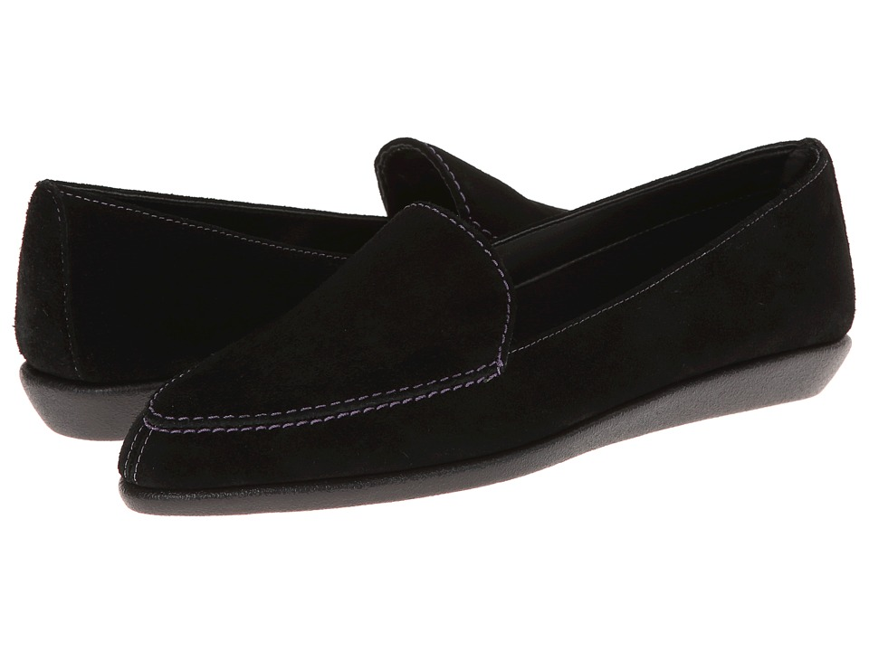 The FLEXX - Sartoris (Black Suede) Women's Flat Shoes