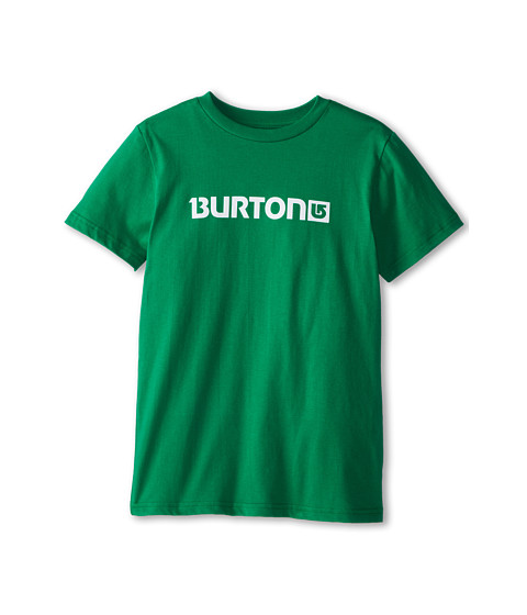 Burton Kids - Logo Horizontal S/S Tee (Little Kids/Big Kids) (Jelly Bean) Boy's Short Sleeve Pullover