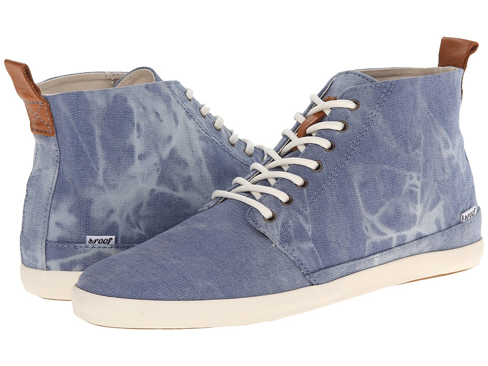 Reef - Winter Wall (Bleached Denim) Women's Lace up casual Shoes