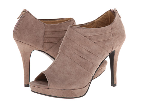 Report - Lorella (Taupe Faux Suede) Women's Shoes
