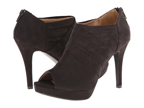 Report - Lorella (Black Faux Suede) Women's Shoes