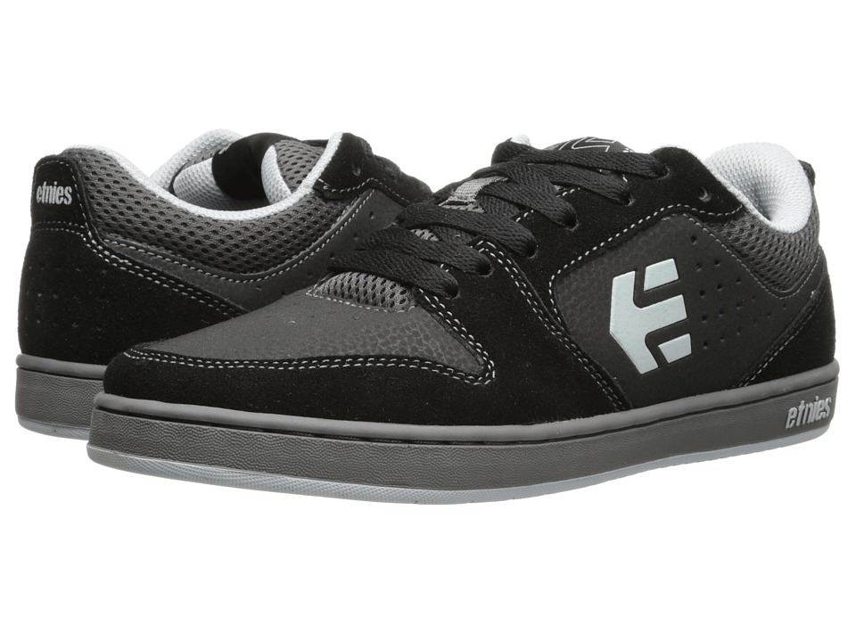 etnies - Verano (Black/Grey) Men's Skate Shoes