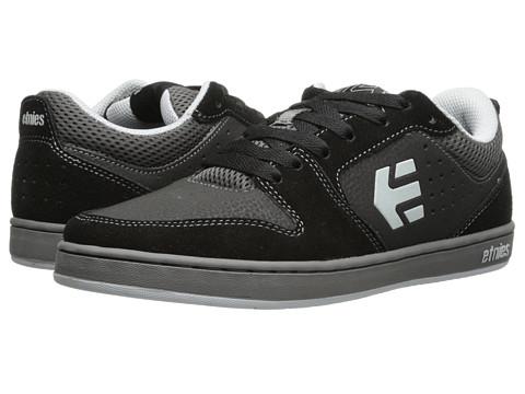 etnies - Verano (Black/Grey) Men's Skate Shoes