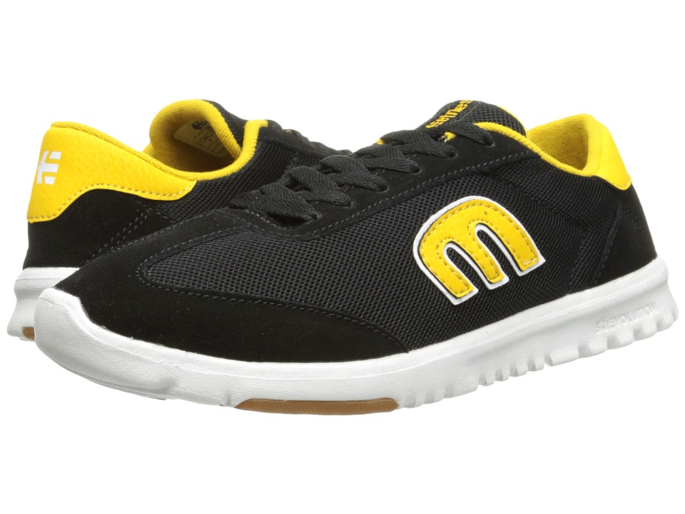 etnies - Lo-Cut SC (Black/Yellow) Men's Skate Shoes