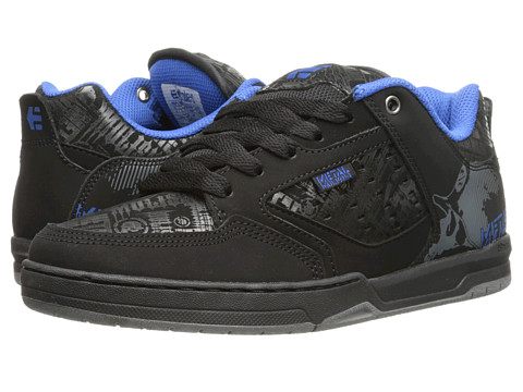 etnies - Metal Mulisha Cartel (Black/Blue/Grey) Men