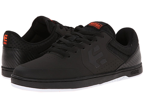 etnies - Marana X Plan B (Black) Men's Skate Shoes