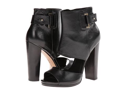 Nine West - Violet Hour (Black Leather) High Heels