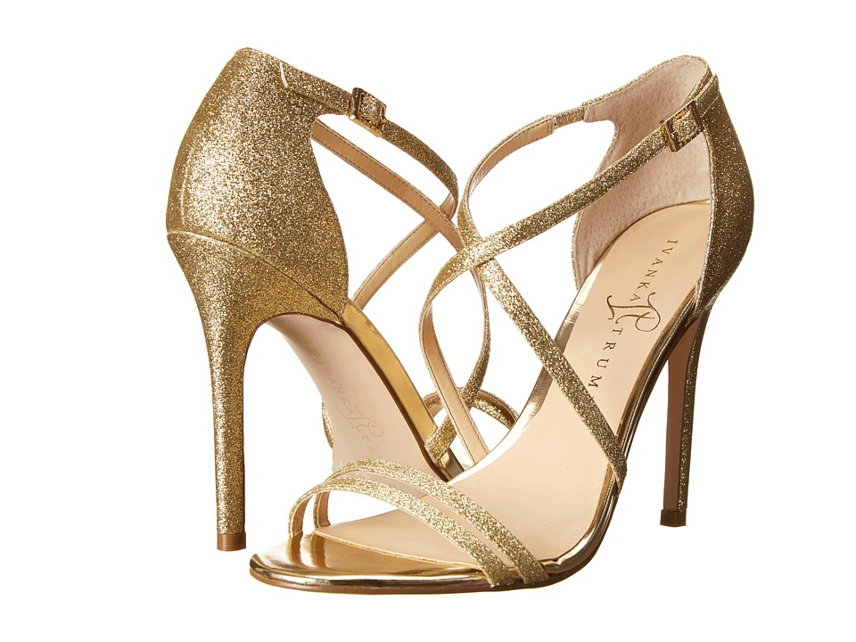 Ivanka Trump - Duchess2 (Gold Glitter) High Heels