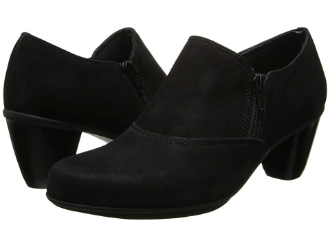 Rose Petals - Pledge (Black Roughout Leather) Women