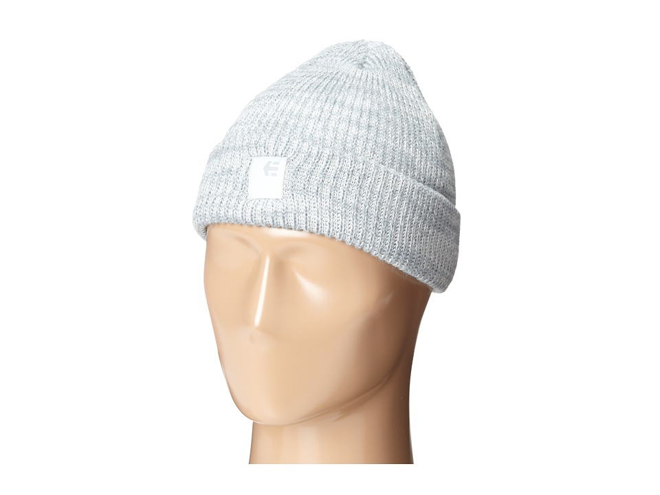 etnies - Classic Beanie (Grey/Heather 2) Beanies