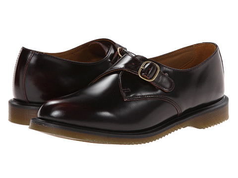 Dr. Martens - Lorne (Cherry) Women's Monkstrap Shoes