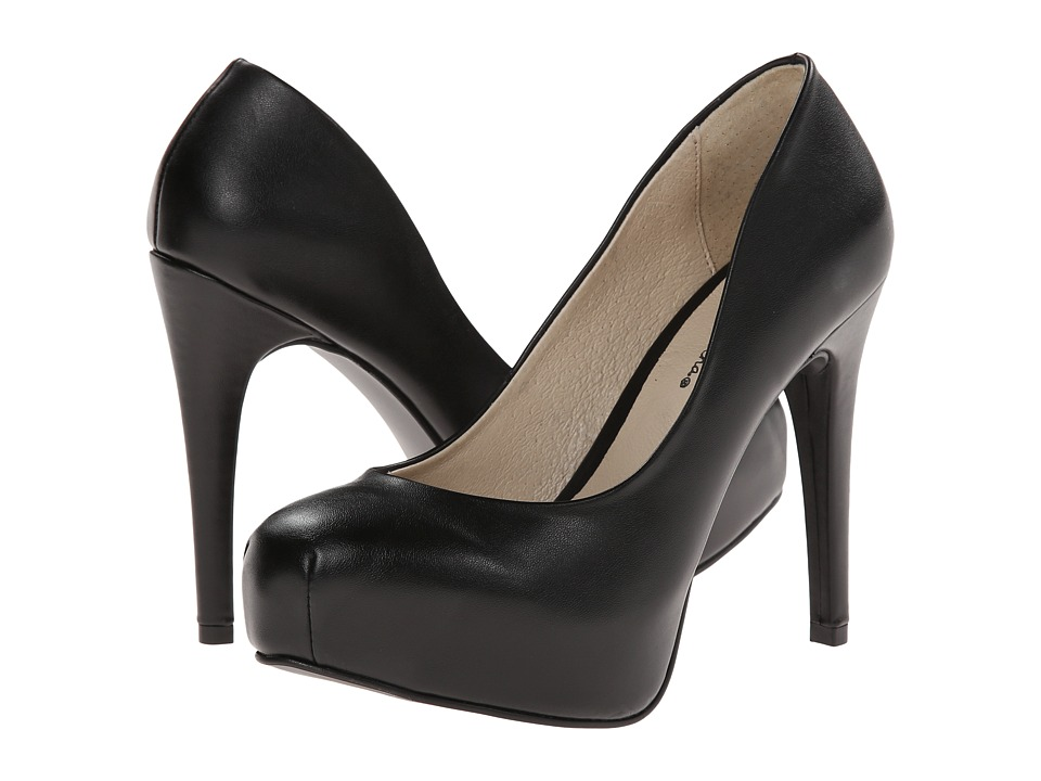 Gabriella Rocha - Jordan (Black Smooth) High Heels