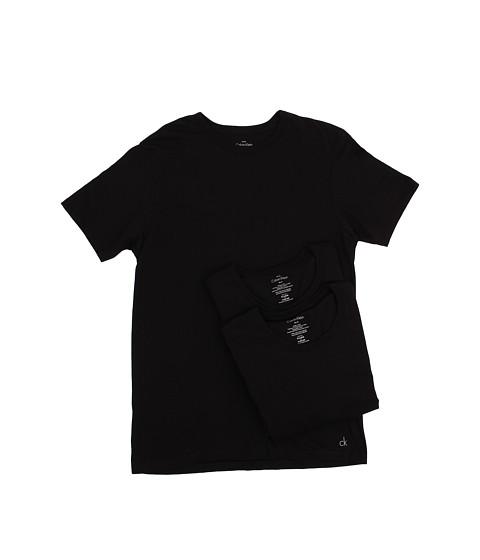 Calvin Klein Underwear - Body Slim S/S Crew 3-Pack U4071 (Black) Men