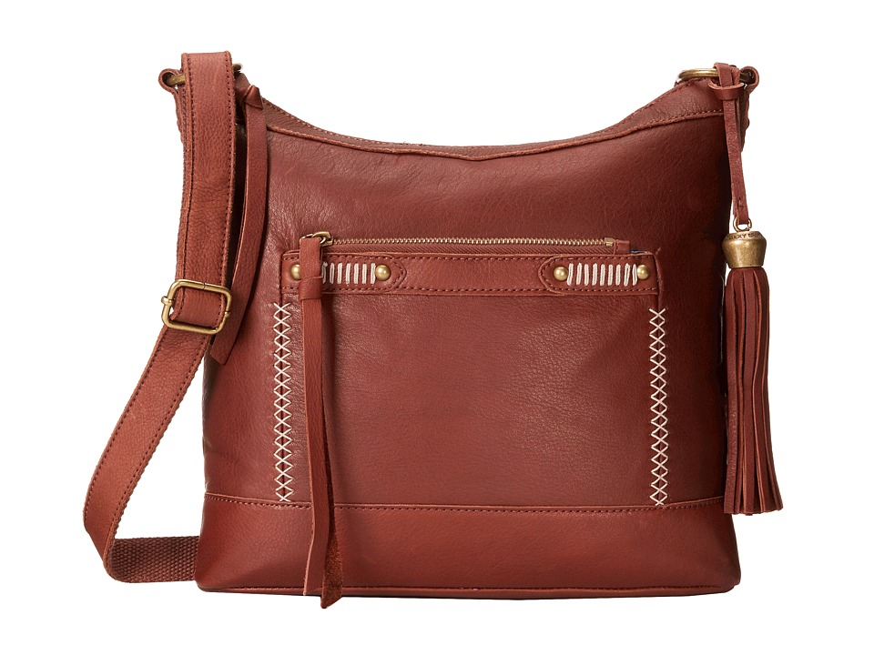 Lucky Brand - Karma Crossbody (Brandy) Cross Body Handbags