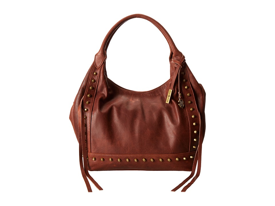 Lucky Brand - Studded Tote (Brandy) Hobo Handbags