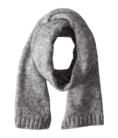 Jack Spade - Gallagher Brushed Scarf (Charcoal) Scarves