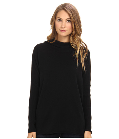 LAmade - Cashmere Cowl Neck (Black) Women's Sweater