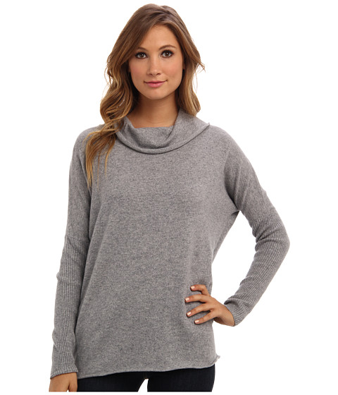 LAmade - Cashmere Cowl Neck (Heather) Women's Sweater
