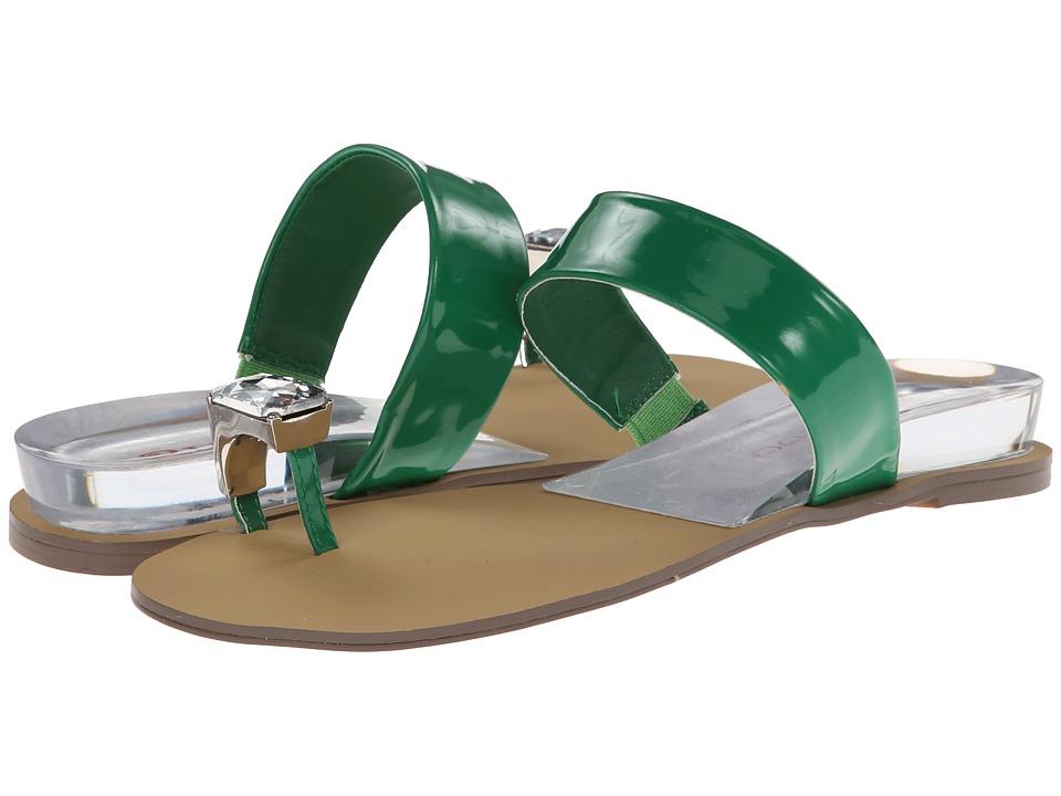 Image of 2 Lips Too - Too Laguana 14 (Green) Women's Sandals