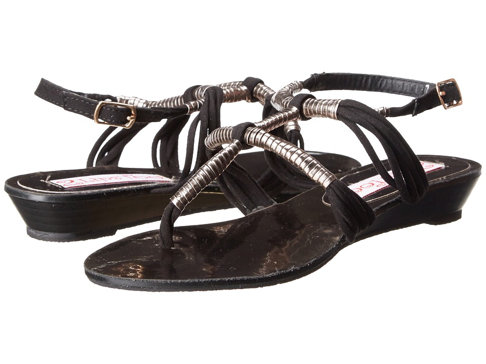 2 Lips Too - Too Coiled (Black) Women's Sandals