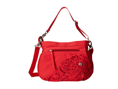Haiku - Bucket Bag (Bittersweet Cranberry) Cross Body Handbags