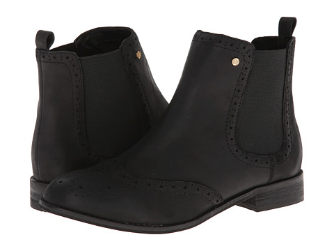 Bass - Danni (Black Established Leather) Women's Boots