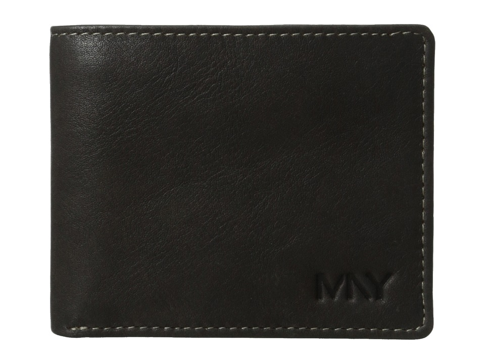 Marc New York by Andrew Marc - 2Tone Washed Passcase (Black) Wallet Handbags