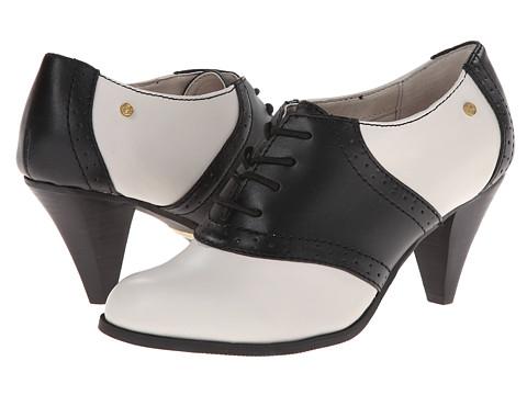 Bass - Glenbrook (Cream/Black/Atanado Leather) High Heels