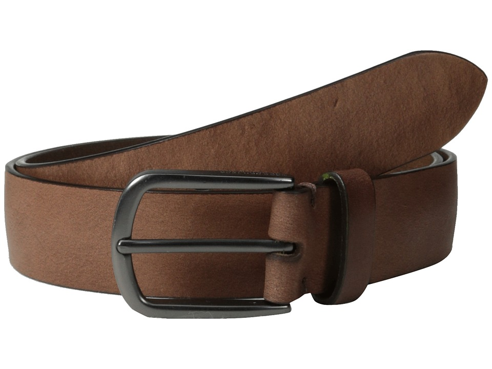 Marc New York by Andrew Marc - 35MM Khaki Belt (Brown) Men's Belts