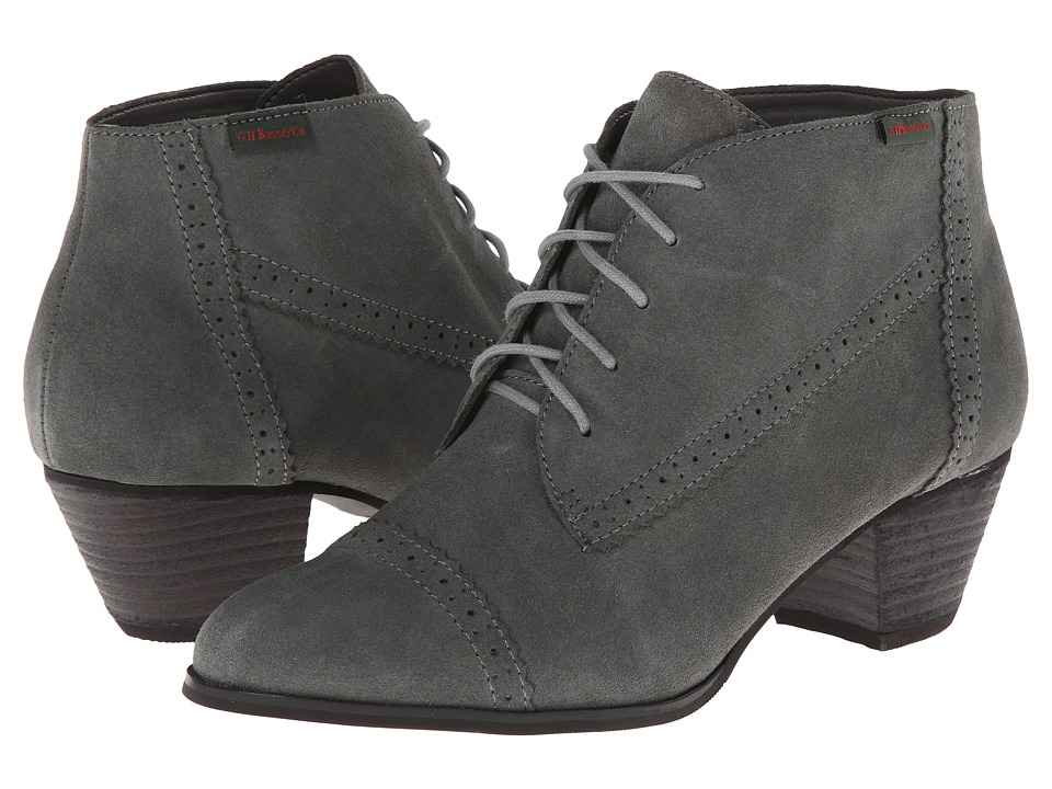 Bass - Porter (Charcoal Cow Suede) Women