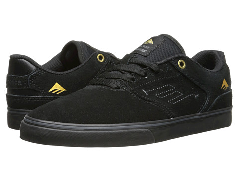 Emerica - The Reynolds Low Vulc (Black/Black) Men's Skate Shoes