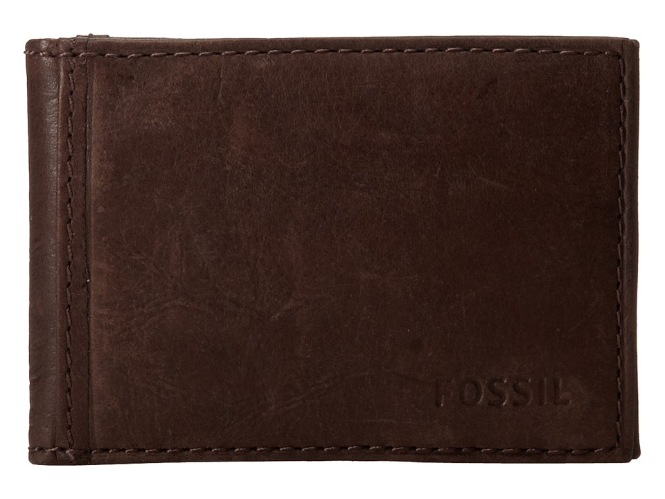 Fossil - Ingram Money Clip Bifold (Brown) Bill-fold Wallet