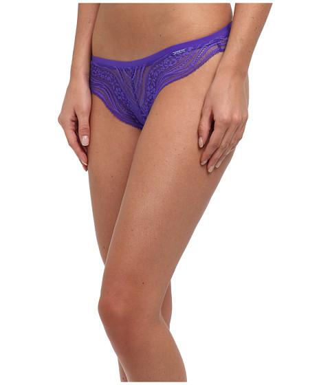 Calvin Klein Underwear - Infinite Lace Thong (Classic Indigo) Women's Underwear