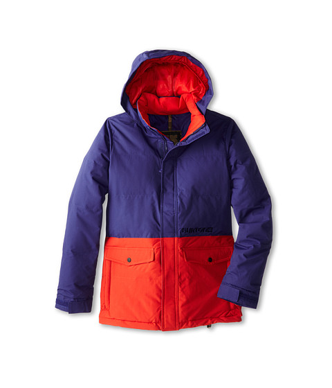 Burton Kids - Hot Spot Jacket (Little Kids/Big Kids) (Deep Sea/Fang) Boy's Coat