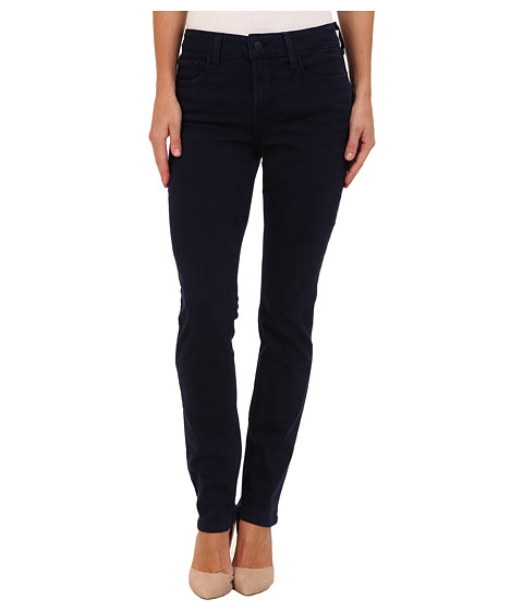 NYDJ - Samantha Slim Sueded Denim (Liberty Blue) Women