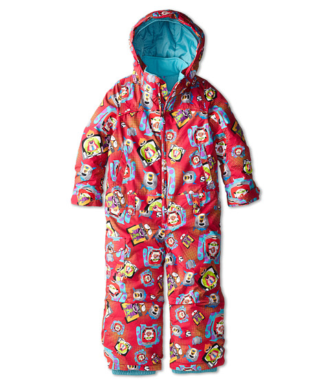 Burton Kids - Minishred Illusion One Piece (Toddler/Little Kids) (Pixar Print) Girl's Snow Bibs One Piece