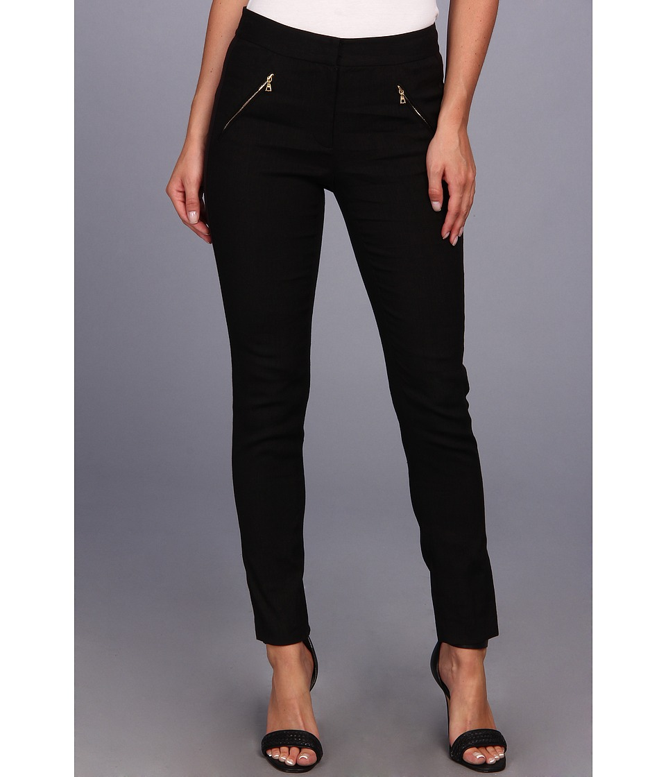 Rebecca Taylor - Zip Pocket Pant (Black) Women's Casual Pants