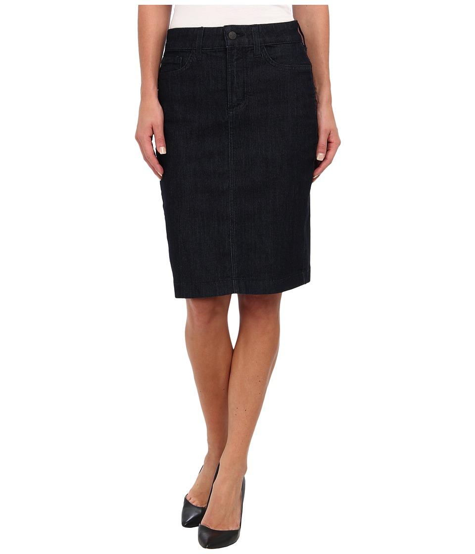 NYDJ - Dora Skirt in Dark Enzyme (Dark Enzyme) Women's Skirt