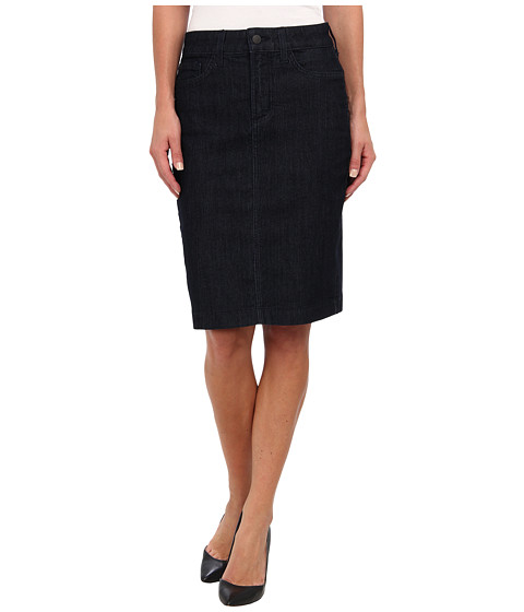NYDJ - Dora Skirt in Dark Enzyme (Dark Enzyme) Women