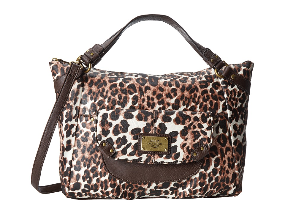 Relic - Blakely Satchel (Beige Multi) Satchel Handbags