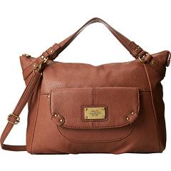 Relic Blakely Satchel (Brown) Satchel Handbags