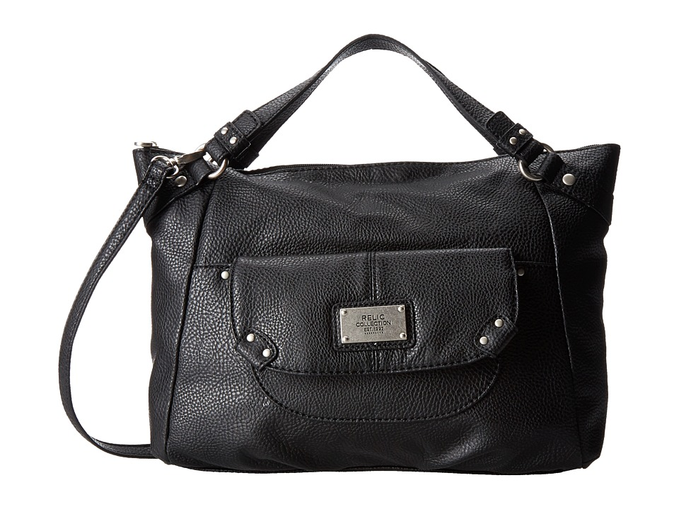 Relic - Blakely Satchel (Black) Satchel Handbags